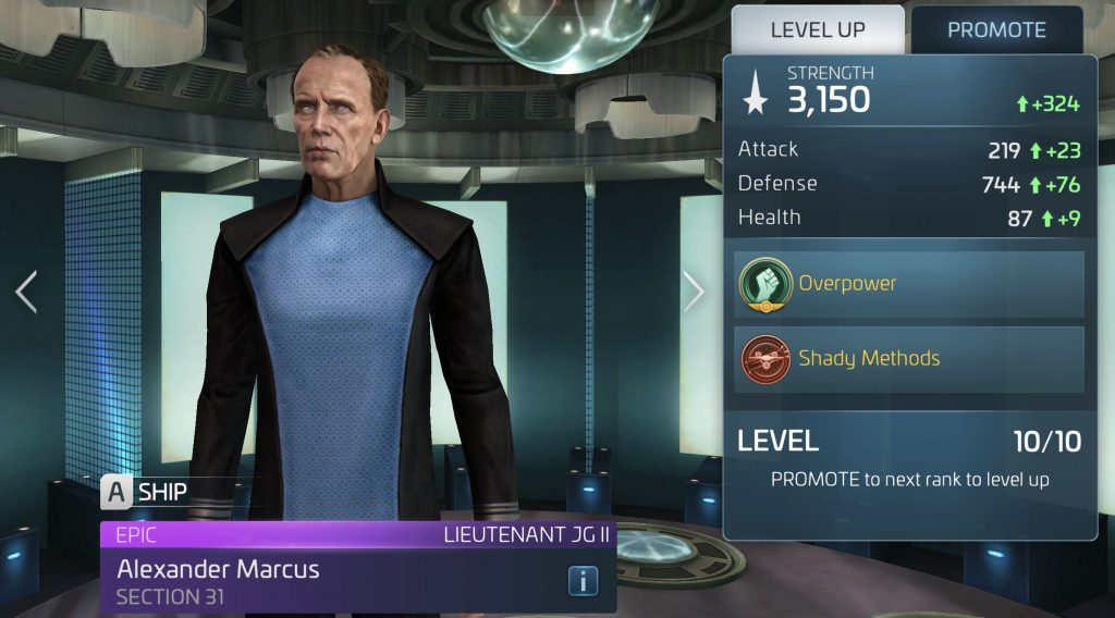 Star Trek Fleet Command Alexander Marcus