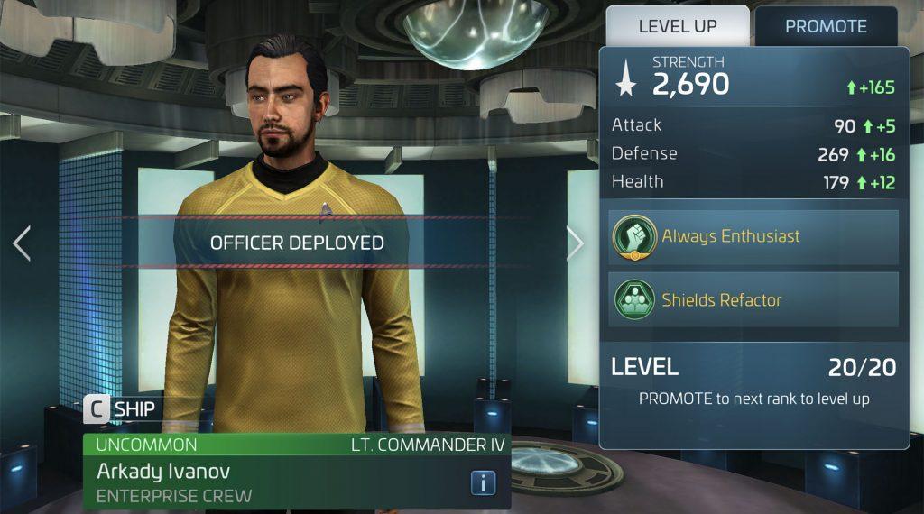 Star Trek Fleet Command Arkady Ivanov