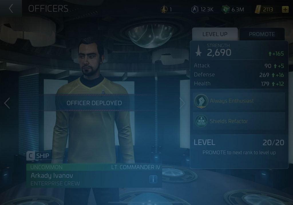 Arkady Ivanov Star Trek Fleet Command Wiki