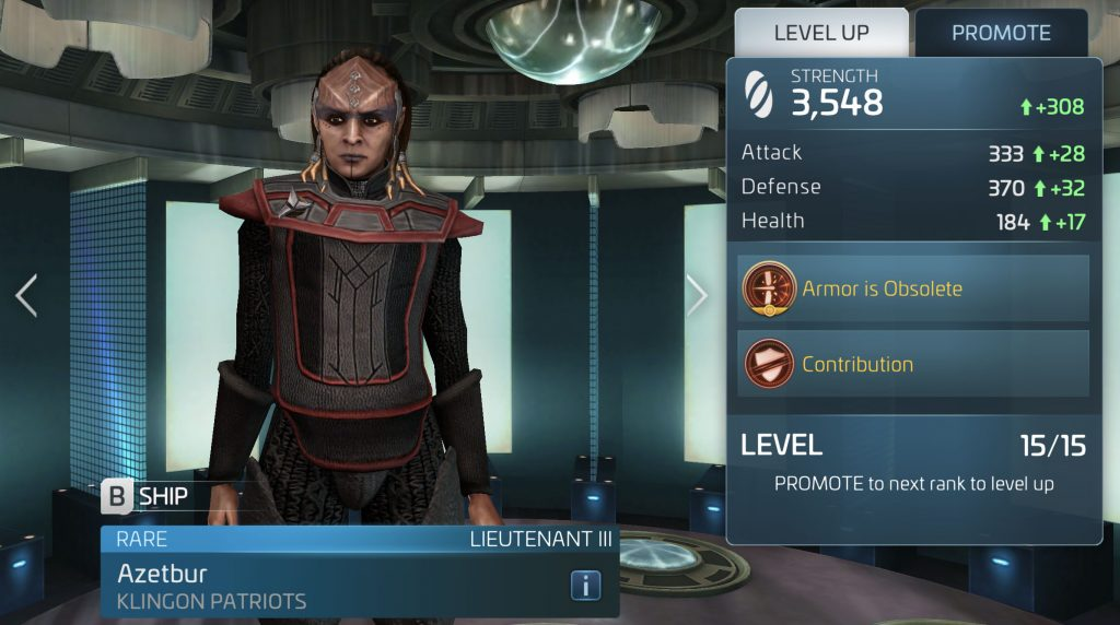 Star Trek Fleet Command Azetbur