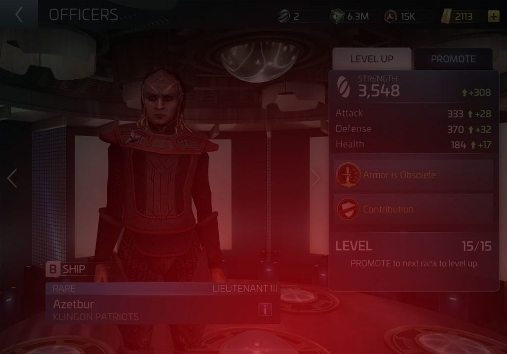 Azetbur Star Trek Fleet Command Wiki