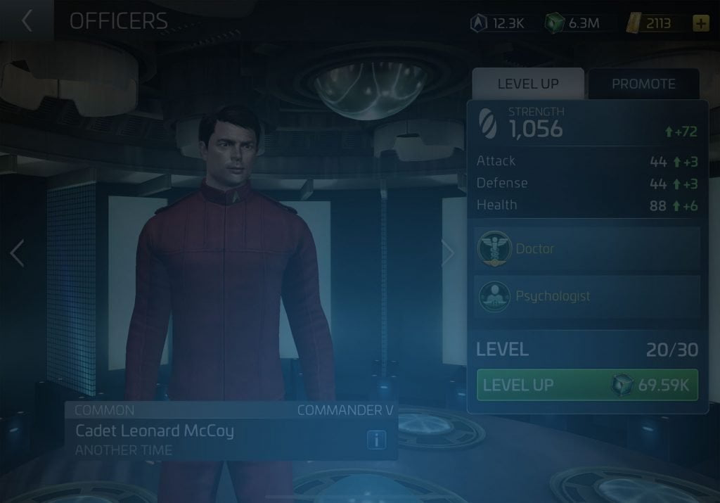 Cadet Leonard McCoy Star Trek Fleet Command Wiki