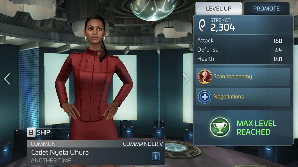 Star Trek Fleet Command Cadet Nyota Uhura