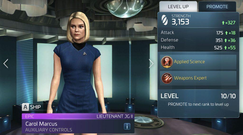 Star Trek Fleet Command Carol Marcus