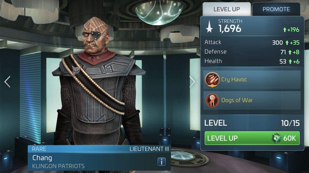 Star Trek Fleet Command Chang