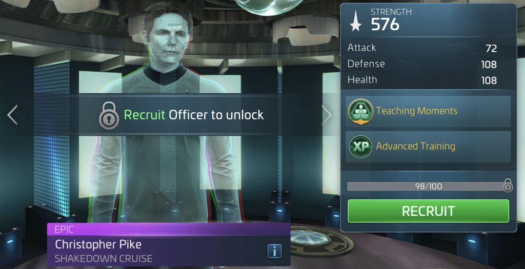 Star Trek Fleet Command Christopher Pike