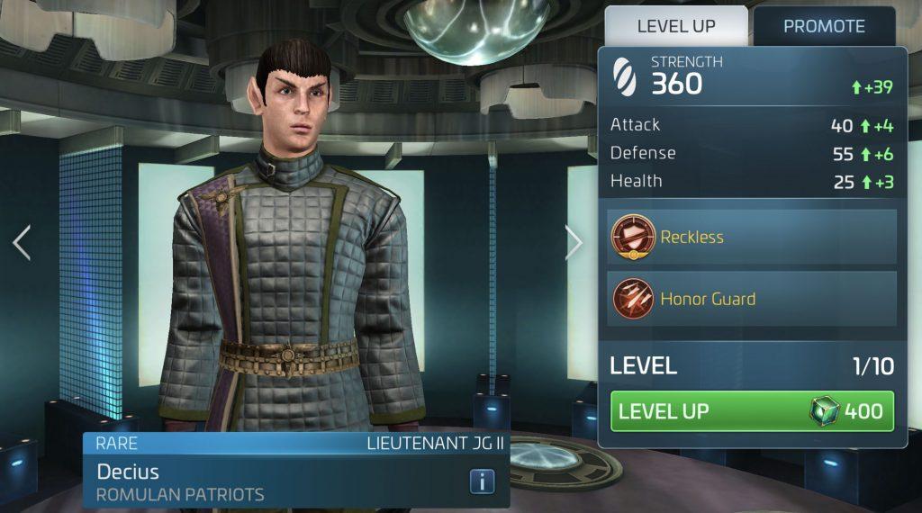 Star Trek Fleet Command Decius