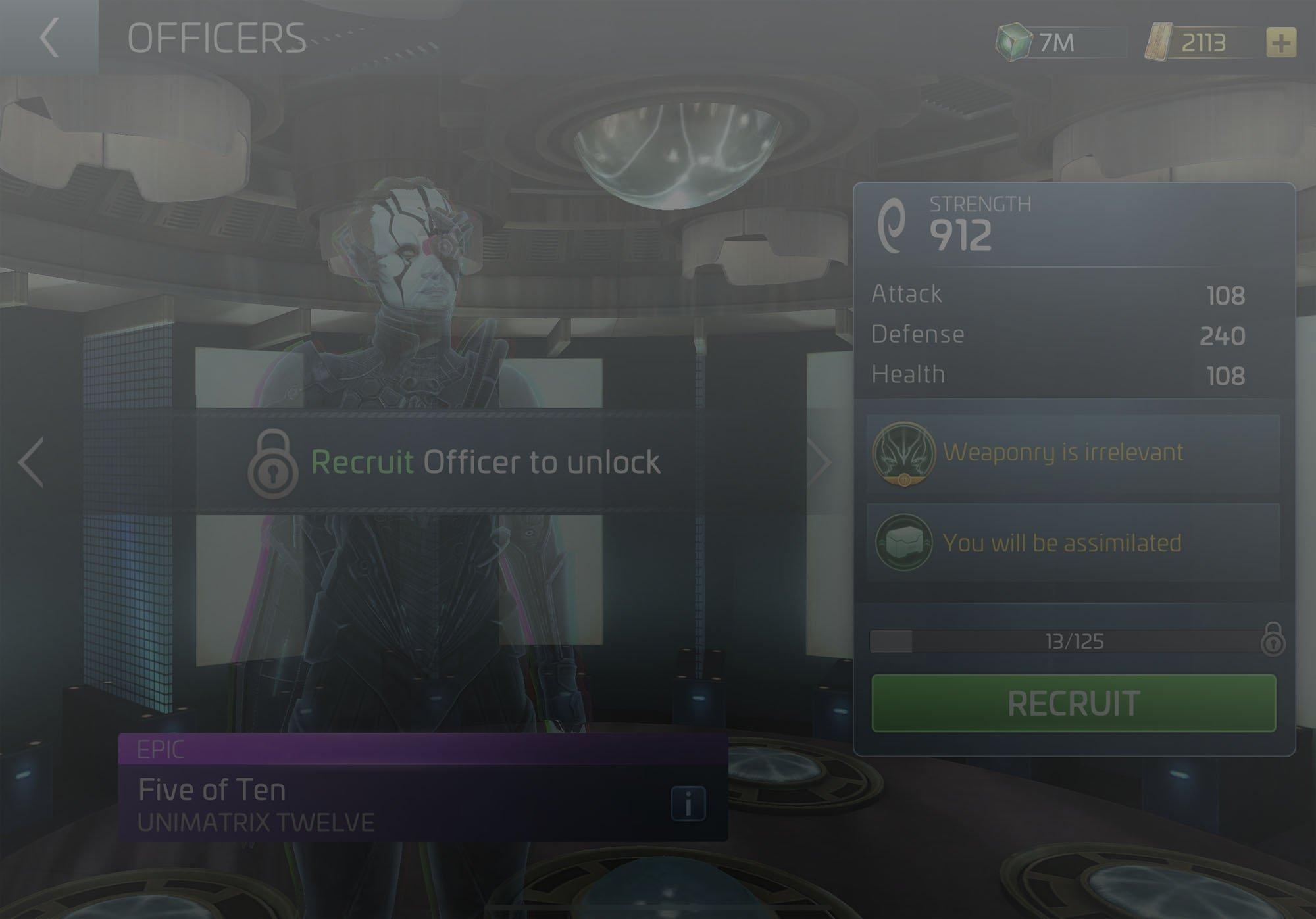 Officer Five of Ten