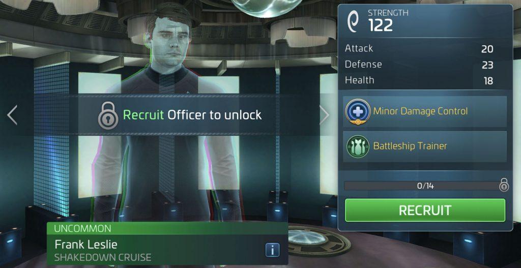Star Trek Fleet Command Frank Leslie