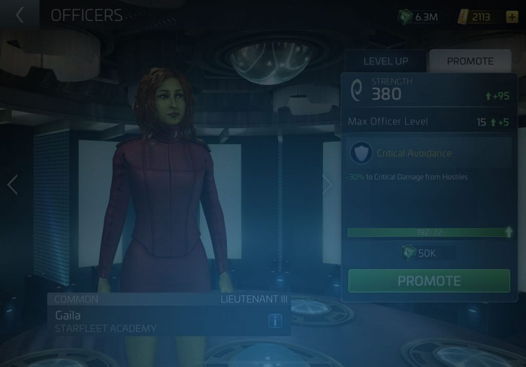 Gaila Star Trek Fleet Command Wiki
