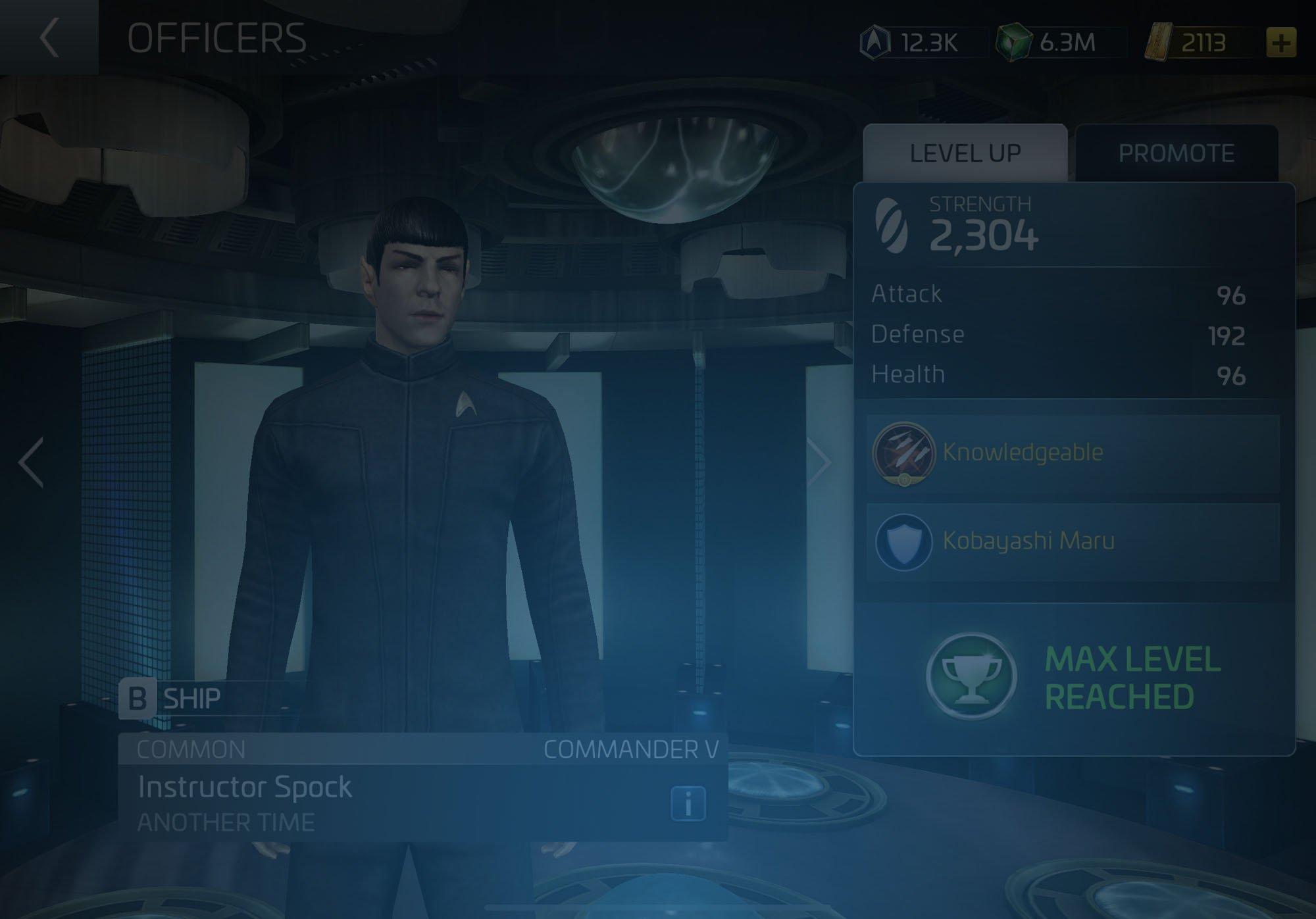 Instructor Spock