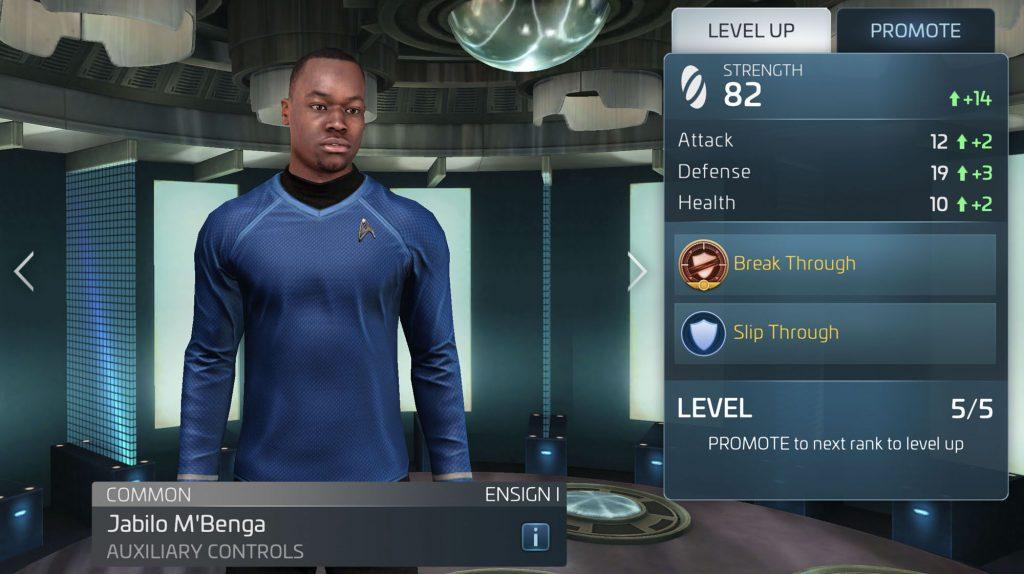 Star Trek Fleet Command Jabilo M'Benga