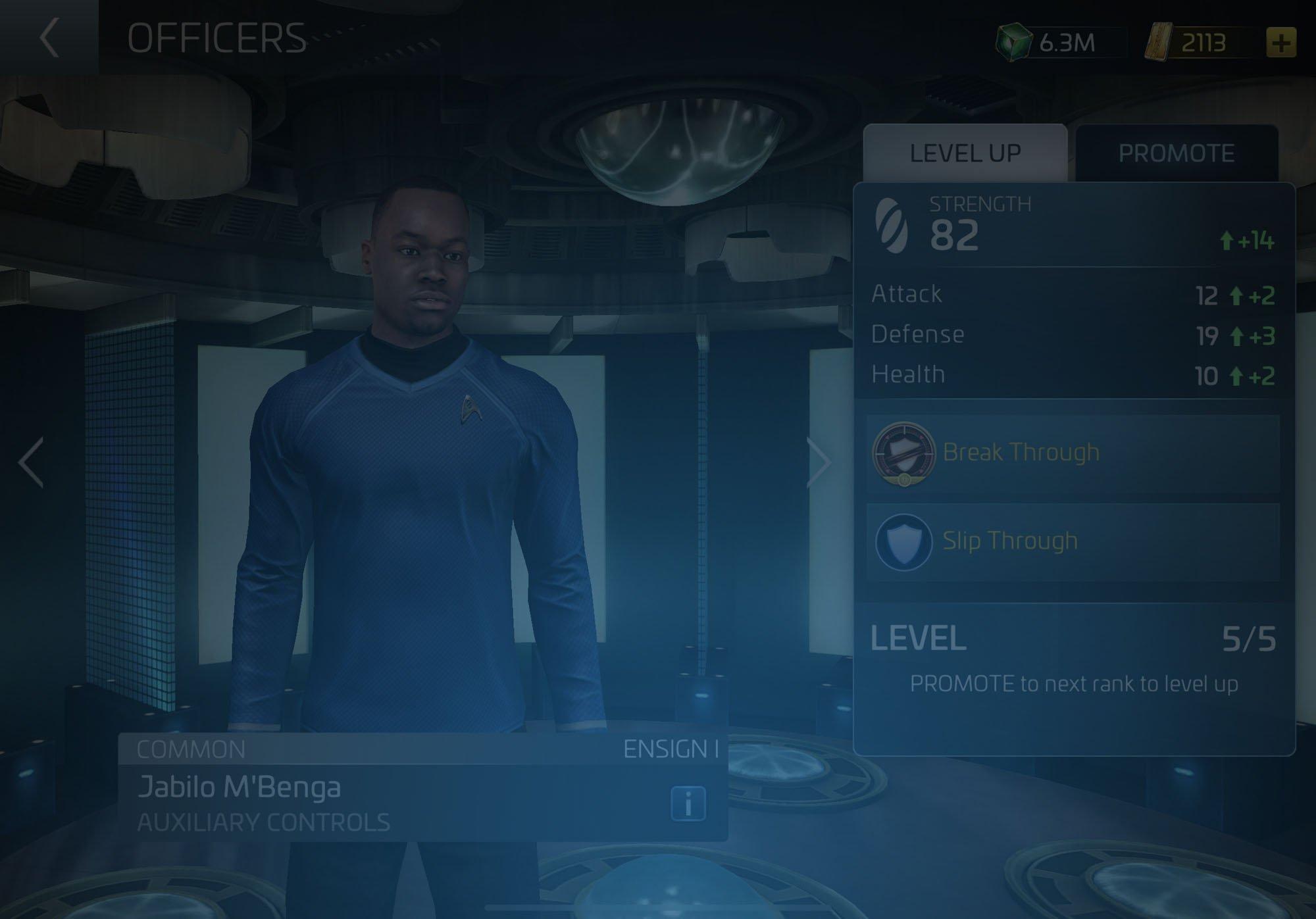 Officer Jabilo M'Benga