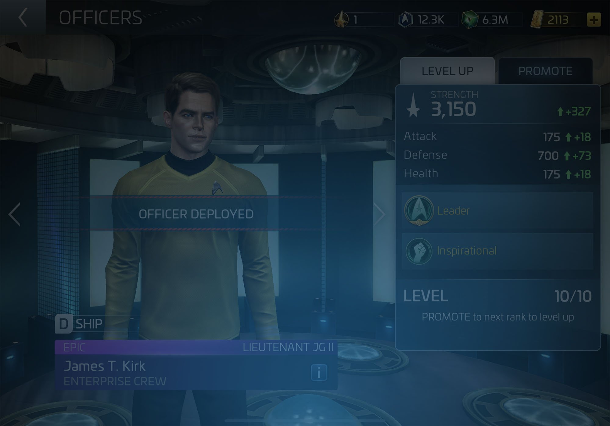 Officer James T. Kirk