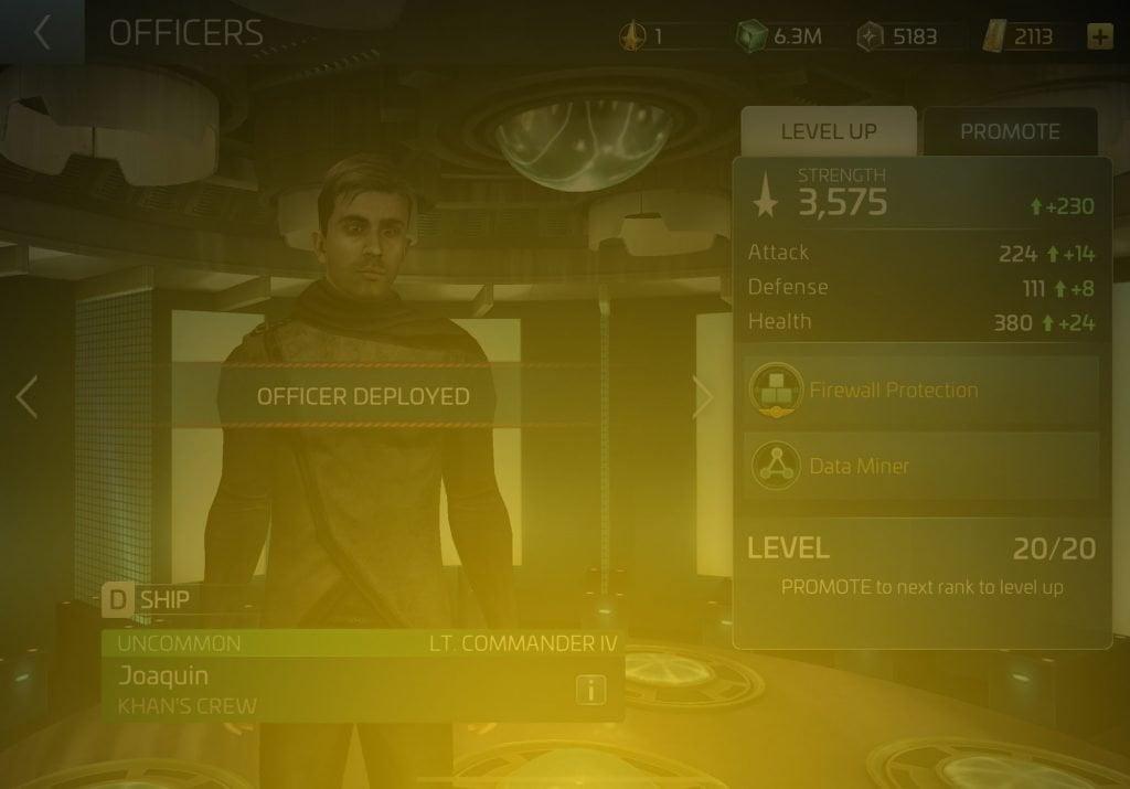 Joaquin Star Trek Fleet Command Wiki