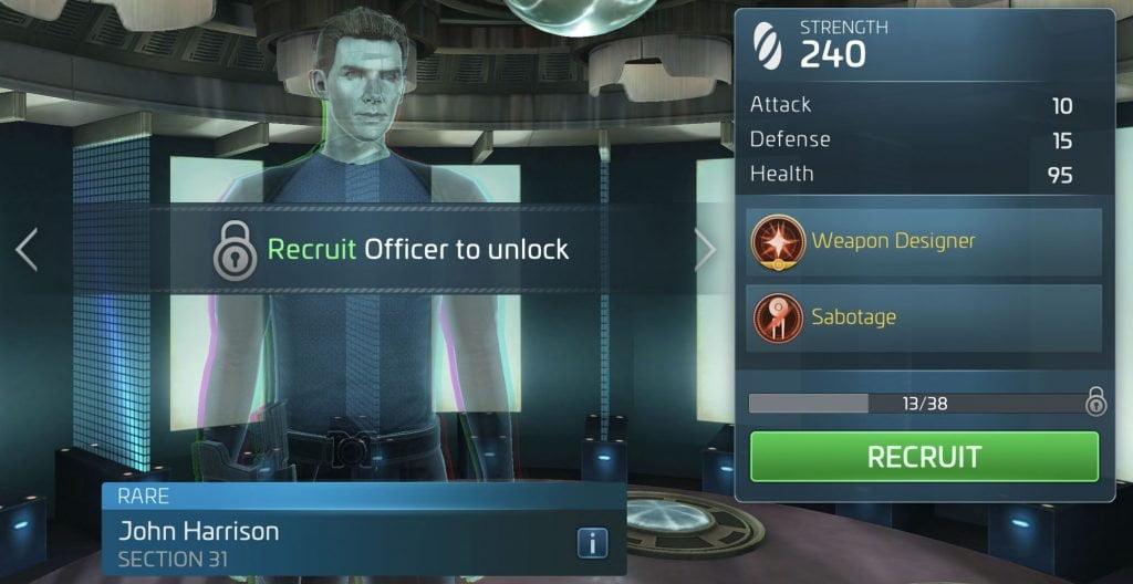Star Trek Fleet Command John Harrison