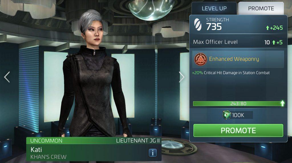 Star Trek Fleet Command Kati