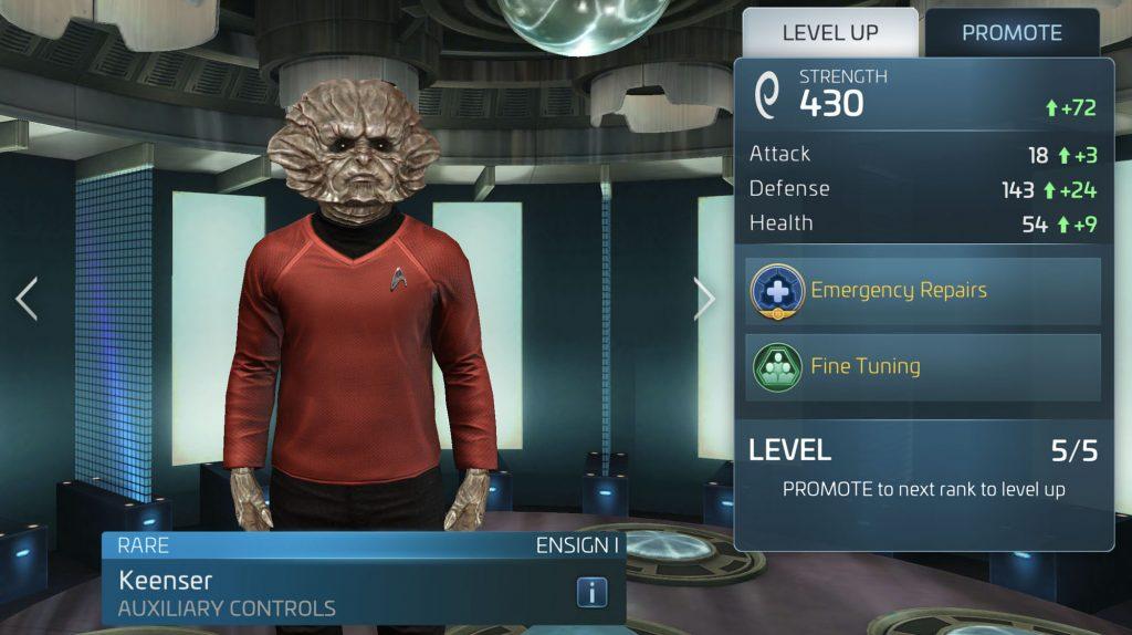 Star Trek Fleet Command Keenser