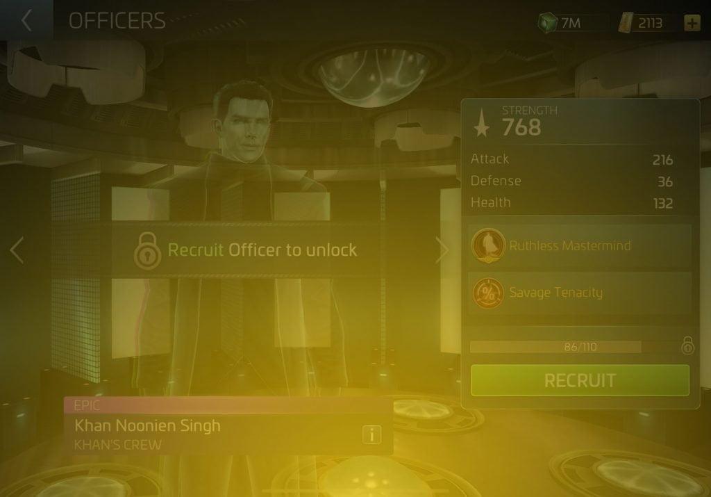 Khan Noonien Singh Star Trek Fleet Command Wiki