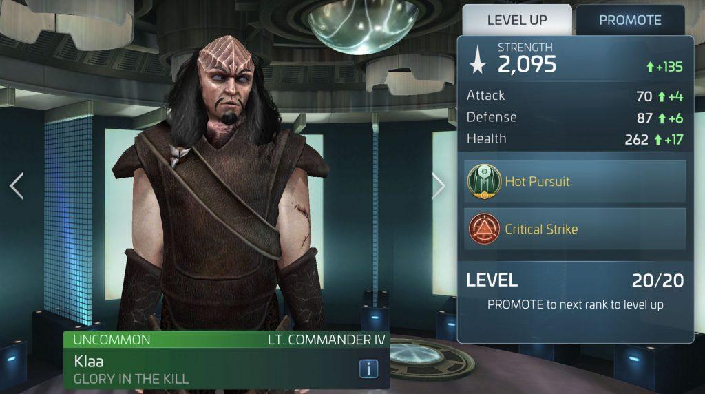 Star Trek Fleet Command Klaa