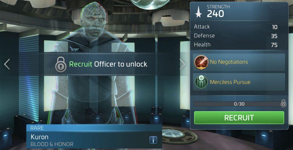 Star Trek Fleet Command Kuron