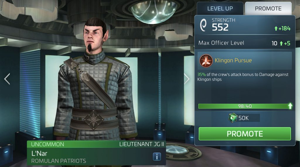 Star Trek Fleet Command L'Nar