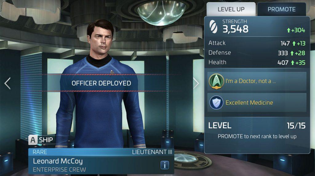 Star Trek Fleet Command Leonard McCoy