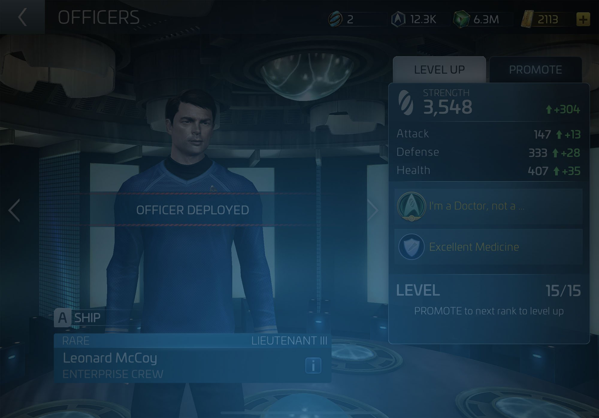 Officer Leonard McCoy