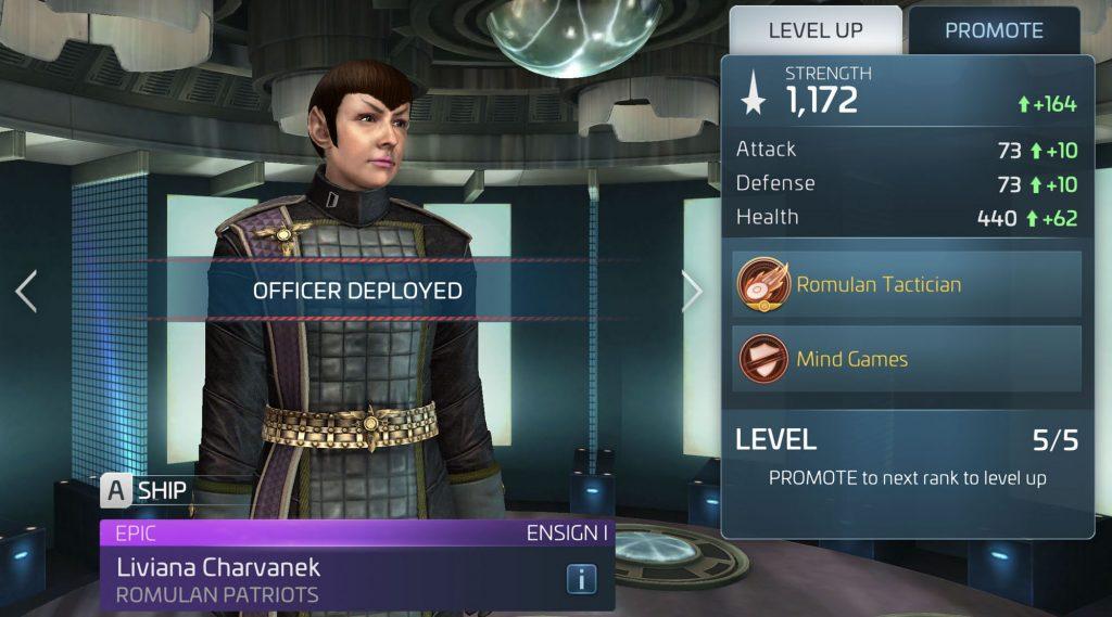 Star Trek Fleet Command Liviana