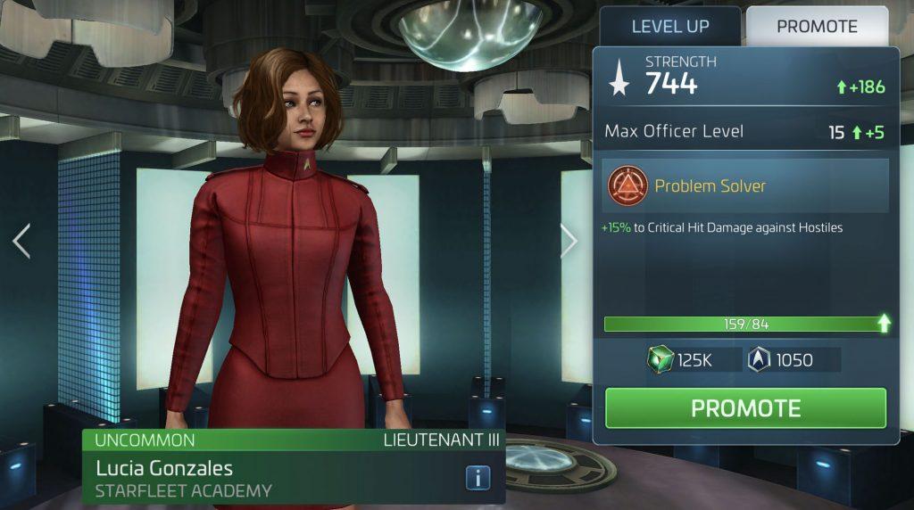 Star Trek Fleet Command Lucia Gonzales