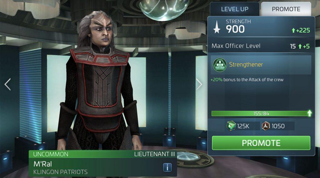 Star Trek Fleet Command M'Ral