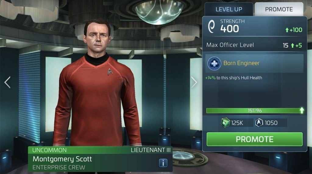 Star Trek Fleet Command Montgomery Scott