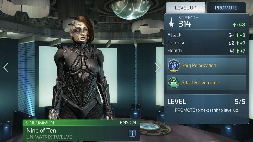 Star Trek Fleet Command Nine of Ten