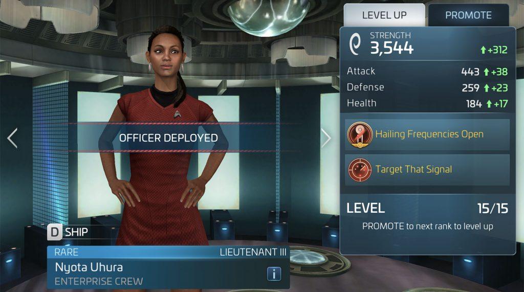 Star Trek Fleet Command Nyota Uhura