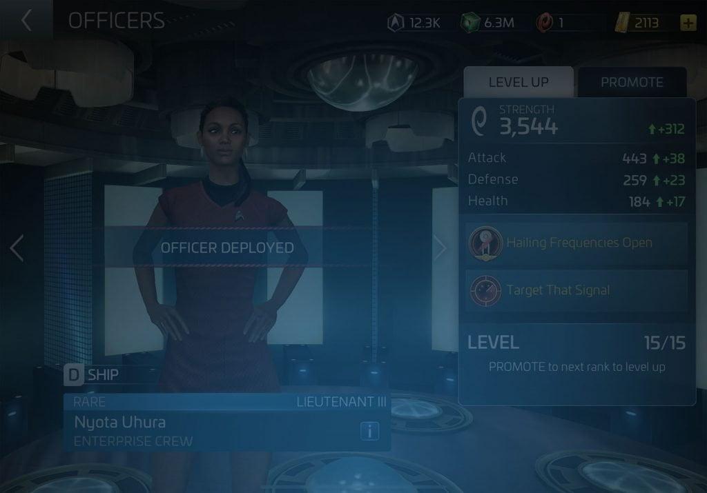 Nyota Uhura Star Trek Fleet Command Wiki