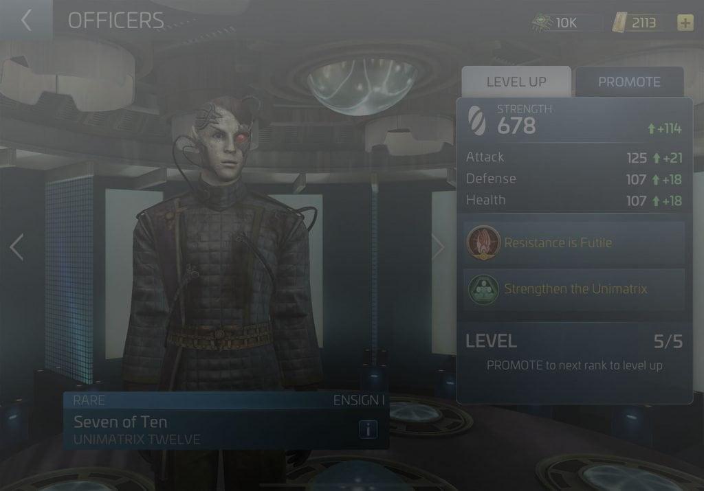 Seven of Ten Star Trek Fleet Command Wiki