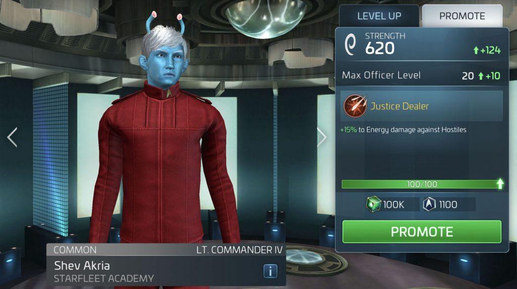 Star Trek Fleet Command Shev Akria