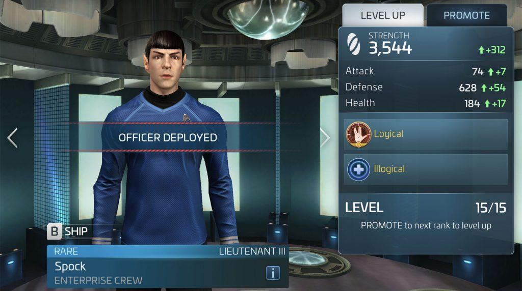 Star Trek Fleet Command Spock