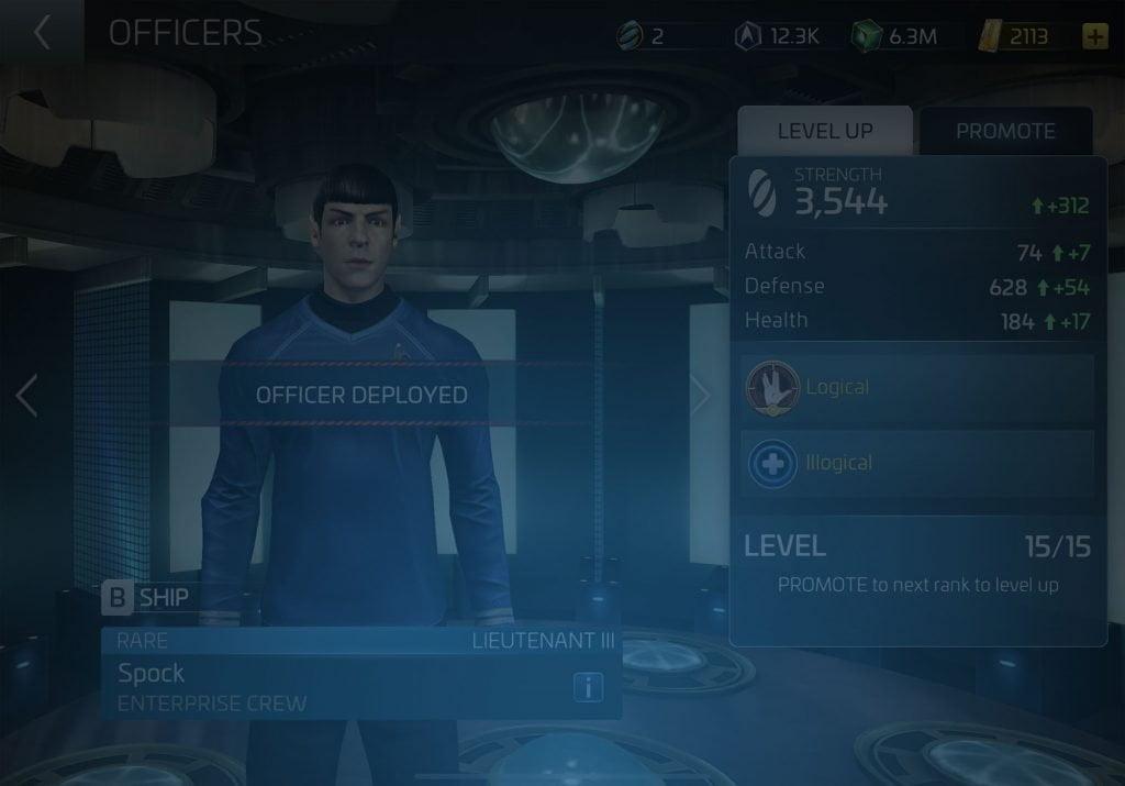 Spock Star Trek Fleet Command Wiki