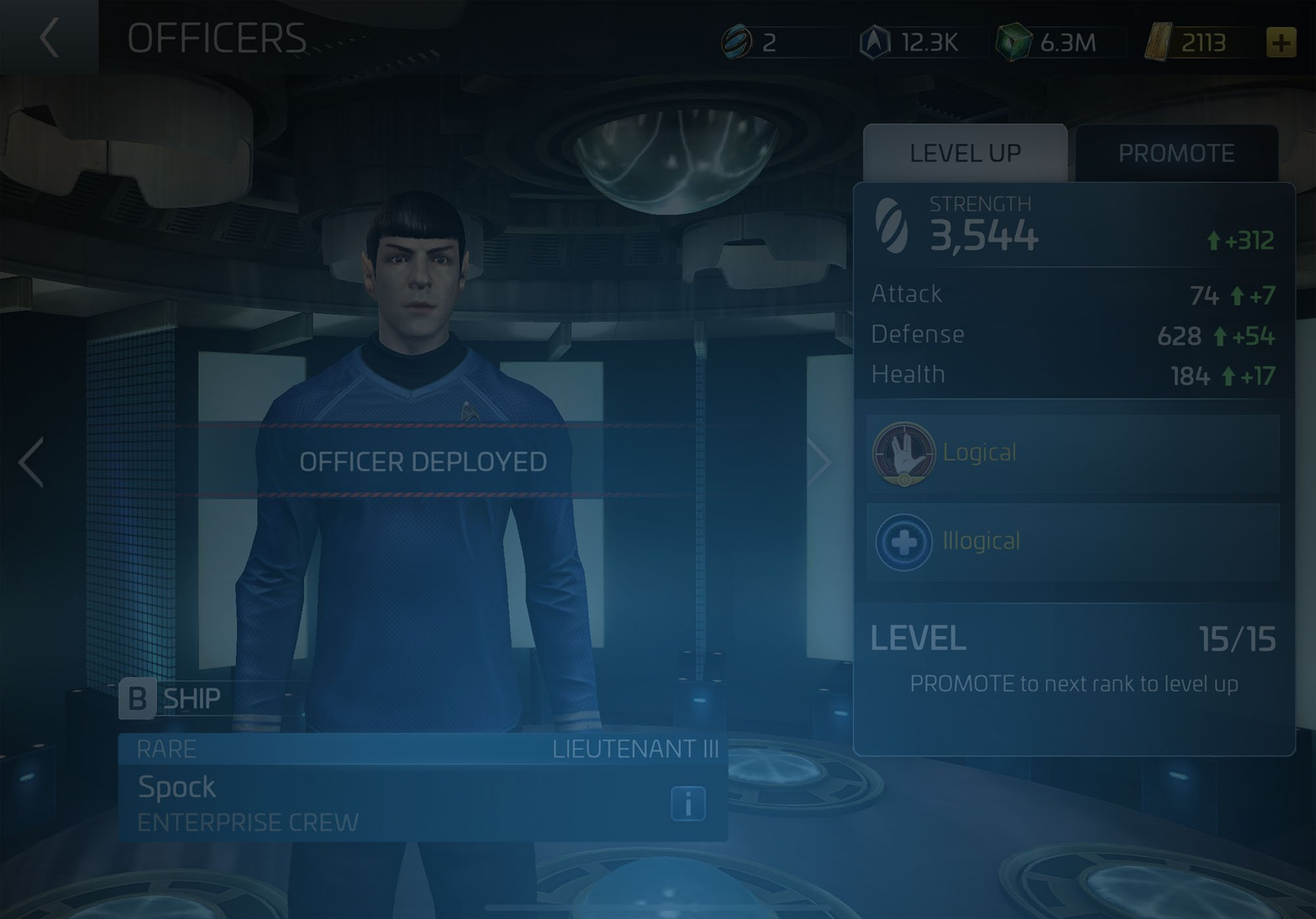Officer Spock