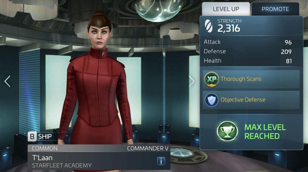 Star Trek Fleet Command T'Laan
