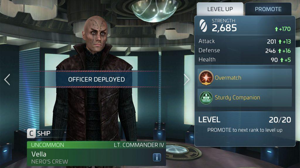 Star Trek Fleet Command Vella