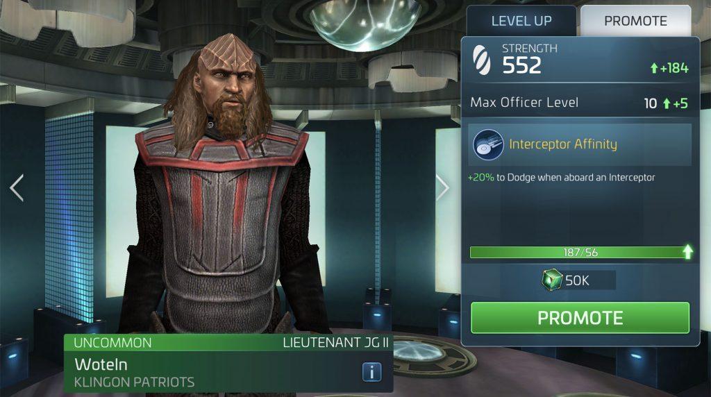 Star Trek Fleet Command Woteln
