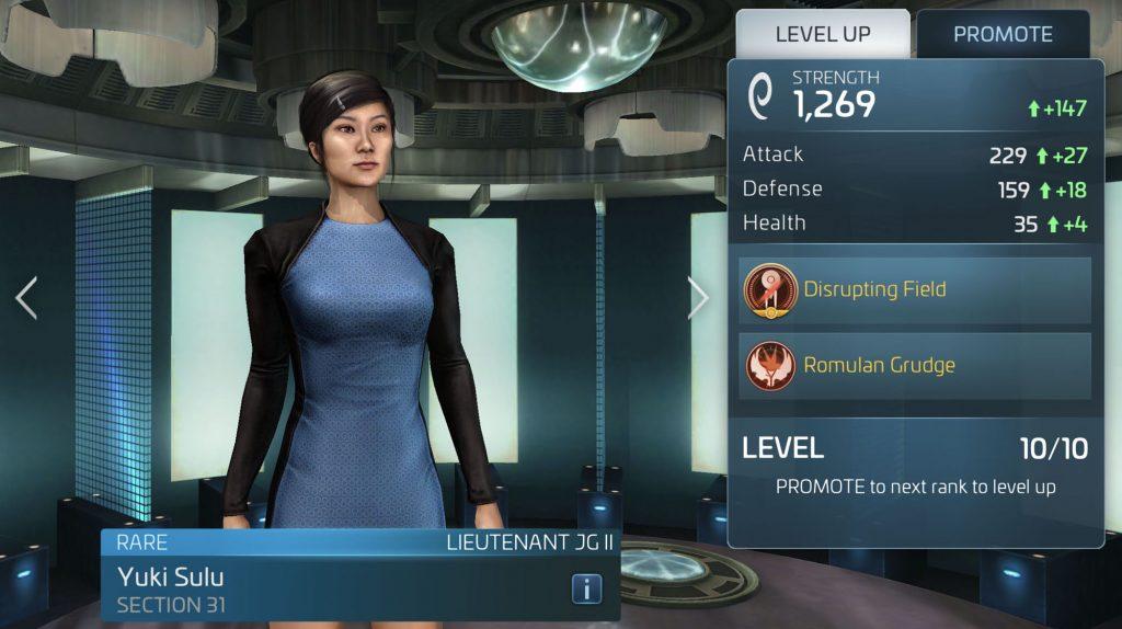 Star Trek Fleet Command Yuki Sulu