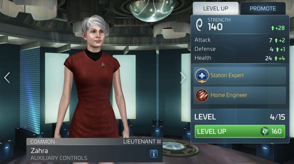Star Trek Fleet Command Zahra