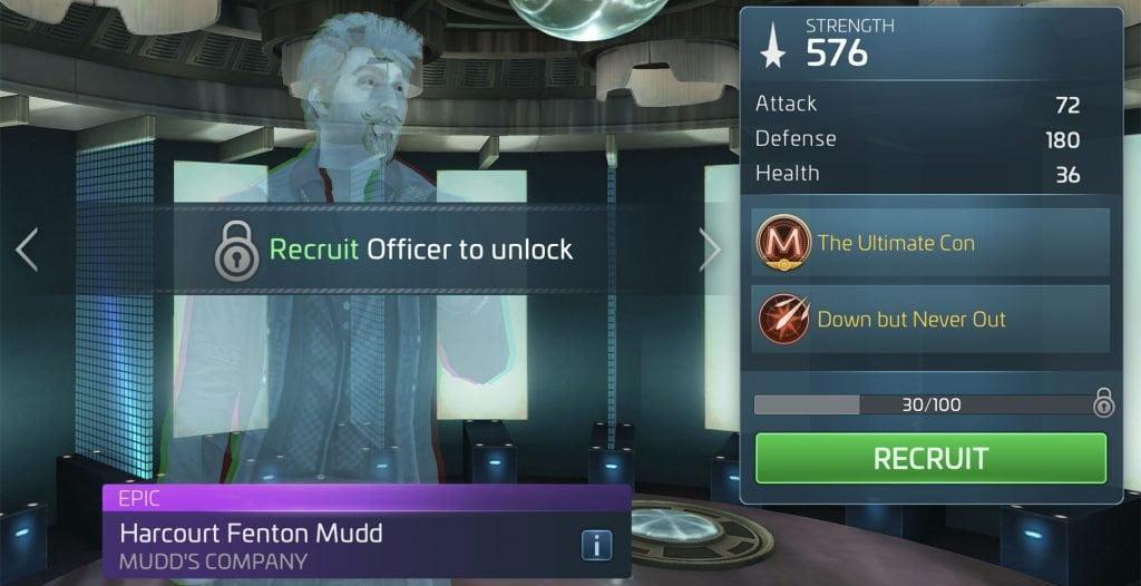 Star Trek Fleet Command Harry Mudd