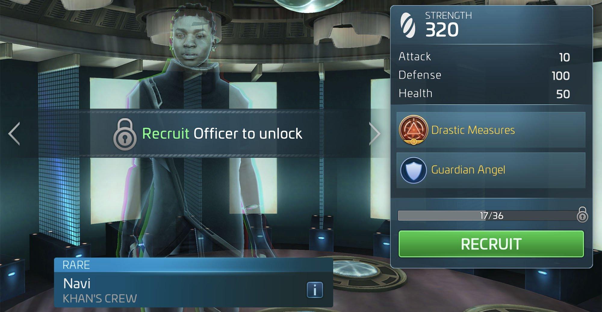Star Trek Fleet Command Navi