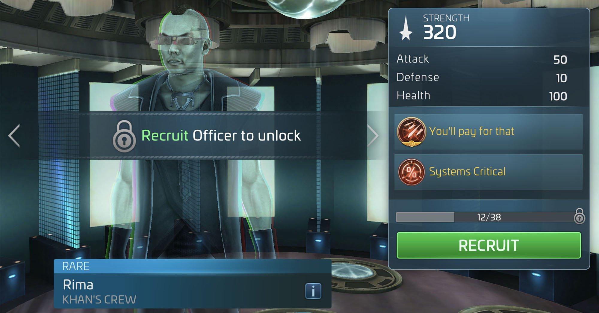 Star Trek Fleet Command Rima