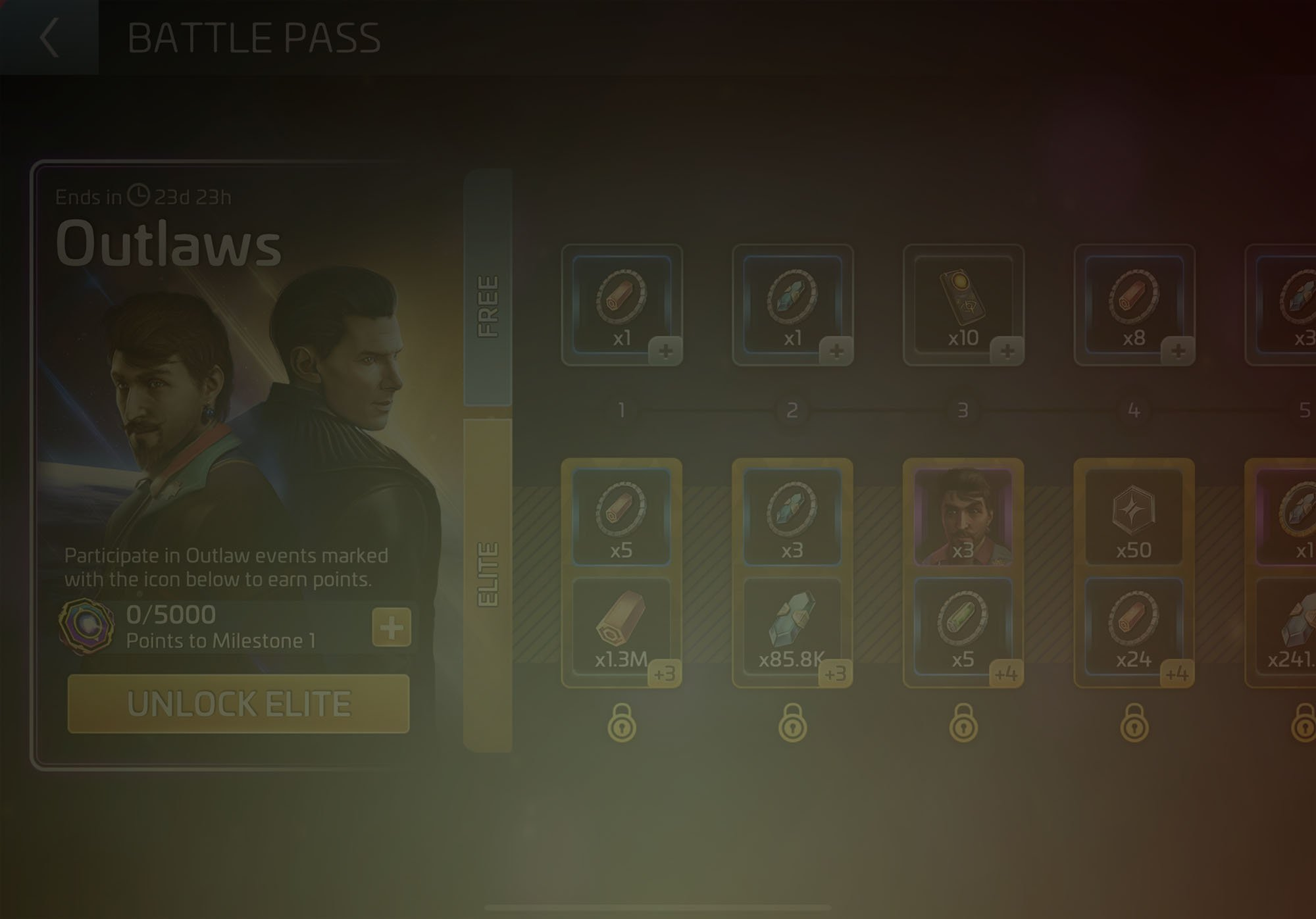 Battle Pass – Outlaws