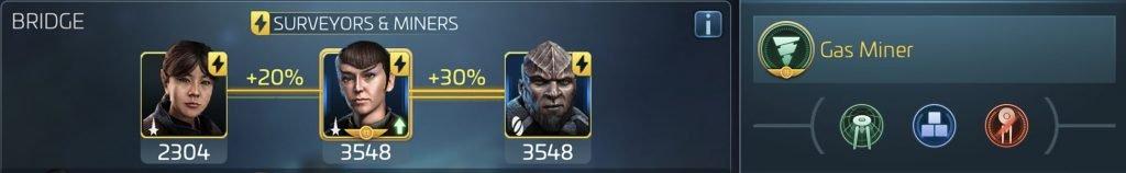 Star Trek Fleet Command Officers Partial Crew Synergy